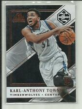 KARL-ANTHONY TOWNS 2015-16 PANINI LIMITED ROOKIE RC #169 /80