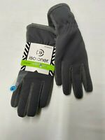Womens ISOTONER Gray Active Smartouch Gloves Sz XL NEW NWT