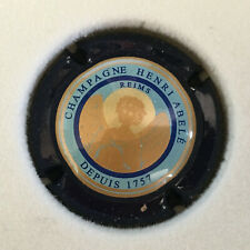 Capsule Champagne ABELE N°41A CTR BLEU NOIR FOND BLEU PASLET
