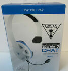 Turtle Beach Recon Chat White Gaming Headset For Ps4 And Ps4 Pro   Playstatio