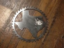 Saw Blade Style Texas Metal Art Plasma Wall Gate Decor Rustic