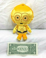 C3PO Plush Stuffed Robot Funko Galactic Plushies Star Wars Droid See Threepio 8""