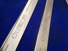 924 PORSCHE 924 Door Sills Kick plaques en acier inoxydable gravé logo INC Fixations
