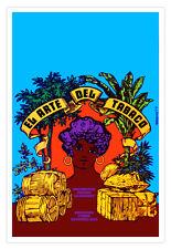 Decor movie Poster 4 film Tarahumara indian runners.Psychedelic color design art