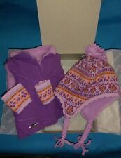 NIB ~ American Girl Truly Me Warm Winter Accessories ~ Dolls Ski Snow Hat Vest
