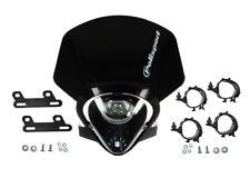 Scheinwerfer Maske Polisport IMX schwarz  für Aprilia Honda Suzuki KTM Husqvarna
