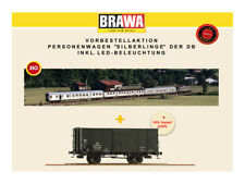 "BRAWA B1909 H0 Set convoglio DB ""Silberling"", ep IV"