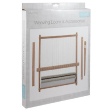 Trimits Large 44 X 34cm Weaving Loom Set and Accessories
