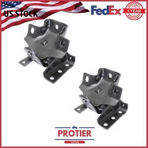 Front Left & Right Motor Mount 2PCS Set Fit Chevy Silverado 1500/ Silverado 2500