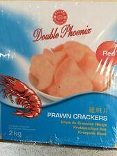 Chinese Prawn Crackers 2 Kg- 160 Serves 25 Gms Restaurant Quality Long Lasting