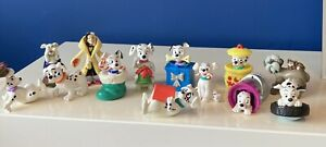 Disney McDonald's Figures bundle vintage 101 Dalmatians dogs xmas ones tyre x13