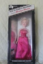 """Vintage Marilyn Monroe 14"""" Doll w/Box 1982 """"How To Marry A Millionaire"""" NRFB"""