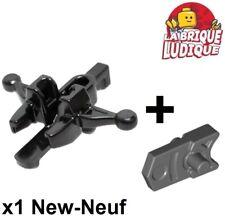 Lego 1x minifig arme weapon arbalète Crossbow mini blaster noir/black 20105 NEUF