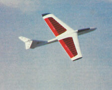 AR-1 Slope Soarer Glider Sailplane Plans,Templates & Instructions