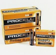 48 x AA Duracell Procell Alkaline Batteries (PC1500, LR6)