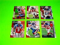 6 MONTREAL ALOUETTES UPPER DECK CFL FOOTBALL CARDS 11 44 48 50 53 90  #-2
