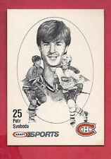 RARE 1986 CANADIENS PETR SVOBODA ROOKIE KRAFT FOOD  CARD