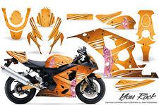 SUZUKI GSXR GSX 600 750 2004-2005 GRAPHIC KITS CREATORX DECALS STICKERS YRO