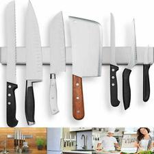 Stainless Steel Kitchen Utensils Magnetic Knife Rack Strips Holder Wall Mounted