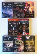 Lot 8 Bernard Cornwell_Saxon Tales #2 4 5 (PB) Grail Quest 1 3 + Starbuck 2 3 4