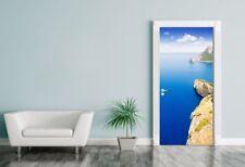 Türaufkleber Formentor cape to Pollensa aerial sea view in Mallorca - Spanien