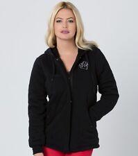 Metal Mulisha Ladies Lizabeth Sherpa Lined Fleece Hoodie Size S