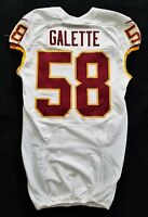 #58 Junior Galette of Washington Redskins NFL Locker Room Game Issued Jersey