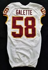 #58 Junior Galette of Washington Redskins Nike Game Issued Jersey