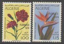 Algeria 1974 Flower Show set Sc# 518-19 NH