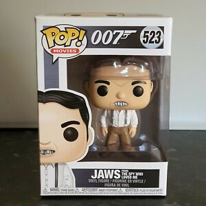 Funko POP! Movies Vinyl Figure James Bond 007 - Jaws. The Spy Who Loved Me 523