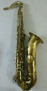 Vintage KING Bb #1006 TENOR Saxophone, The HN White Co. 1930, Plays Nicely