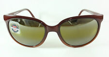 NEW VUARNET SUNGLASSES 002 CATEYE VINTAGE BROWN SKILYNX  GLASS LENS GLACIER 4002