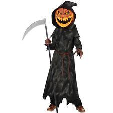 Teen Jack O Lantern Head Halloween Costume Fancy Dress Outfit Age 14-16 yrs