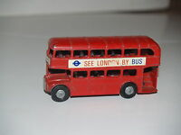 LONE STAR Die Cast Metal Toy ROUTEMASTER SEE LONDON BY BUS 29 Victoria