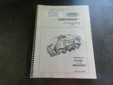 Tennant Centurion Sweeper Service Information Manual   331029
