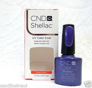 CND Creative Nail SHELLAC Gel Polish Colors of Your Choice .25oz/7.3mL