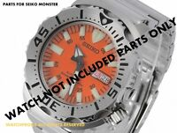 PARTS FOR SEIKO MONSTER - ORIGINAL GLASS  , LINK, CROWN ,DIAL 7S26-0350 SKX781K1