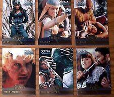 Xena Season 4/5 Enemies Chase Card Set of 6 Cards