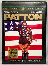 Patton (DVD, 1969) Widescreen, George C. Scott, Karl Malden - WINNER of 8 OSCARS