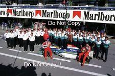 Eddie Irvine & Rubens Barrichello Jordan F1 Team Portrait 1995 Photograph 1