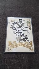 SIGNED NORM PROVAN DRAGONS IMMORTAL 2008 CENTENARY TOP 100 PLAYERS NRL CARD RARE