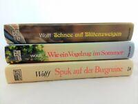 3x Anke Wolff - Insel Fehmarn Jugendbücher - Bücherpaket - Konvolut Sammlung