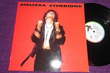 MELISSA ETHERIDGE  Self Titled   1988 LP  ISLAND ILPS 9879