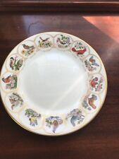 "Boehm Bird and Flowers of the Original Thirteen States - 11"" Plate"