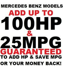 Tuner Performance Chip Mercedes Benz SAVE GAS ADD POWER **REAL GAINS** 1996-2019