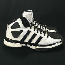 Adidas Pro Model Zero Basketball Shoes Black/White Women's Sz 6 (Art G21015)