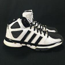 Adidas Pro Model Zero Basketball Shoes Unvers Black/White Men's Sz 6 EXCELLENT!!