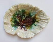 Rare Antique 1770-1820 English Whieldon Creamware Leaf Bowl Dish