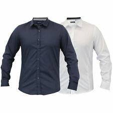 Mens Long Sleeved Collared Shirt By Brave Soul