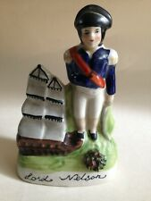 More details for antique staffordshire lord nelson flat back figurine